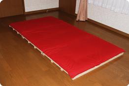 3つ折りソファベッド