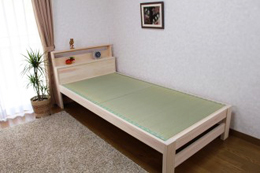 宮付きすのこ畳ベッド