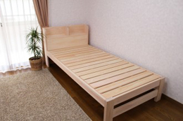 宮付きすのこベッド